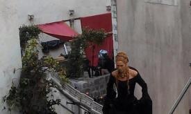 Серсея в черном платье
