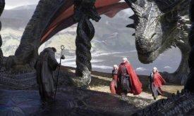 Эйгон Завоеватель с сестрами в септе на Драконьем Камне