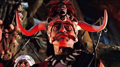 Кадр из фильма «Индиана Джонс и храм судьбы» (1984 г.)