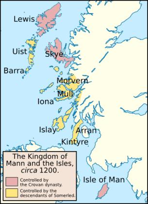 Королевство островов, ок. 1200 г. н.э.