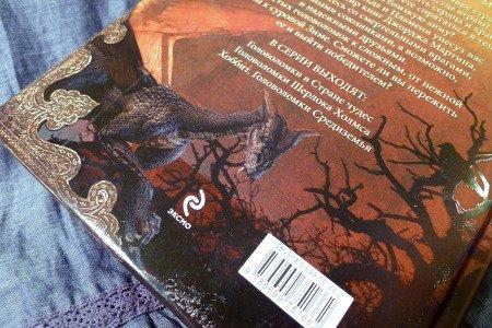Задняя сторона обложки с драконом