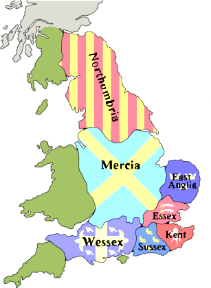 Англо-саксонские королевства