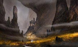 Долина и замок в горах (иллюстрация не связана с ПЛИО)