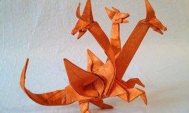 Пример для вдохновения: трехголовый дракон