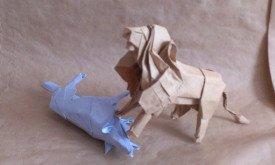 Лев загрыз лютоволка (Андрей)