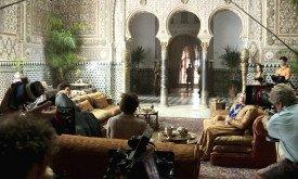 Испанская архитектура используется для Дорна