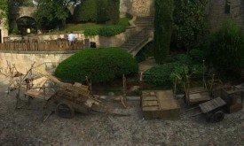 Подготовка к съемкам в Жироне