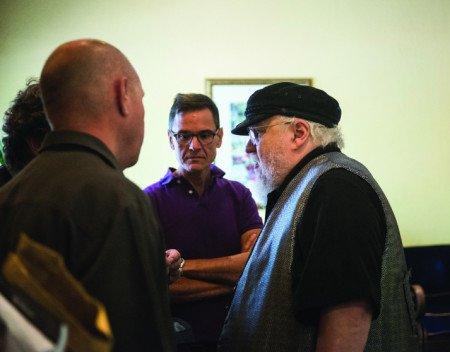 Джордж Мартин на фестивале Bubonicon