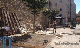 Приготовления к съемкам в Пеньисколе, 21-24 сентября