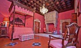 Кастильо-де-Санта-Флорентина в Кане-де-Мар, спальная комната