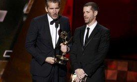 Беньофф и Вайс получают награду за лучший сценарий драматического сериала