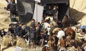 23/09/2015, в пустыне Барденас-Реалес; видно Дени и Даарио