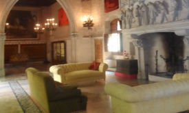 Кастильо-де-Санта-Флорентина в Кане-де-Мар, гостиная