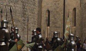Солдаты со знменами