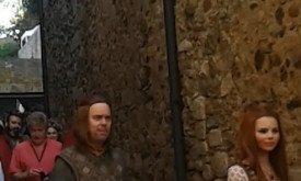 Нед и Санса