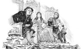 Баттервелл с женой и тестем