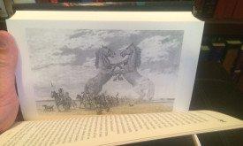 Фотография книги: внутренняя черно-белая иллюстрация