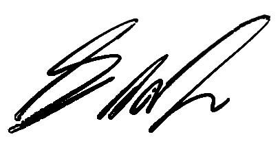 Личная подпись Джорджа Мартина