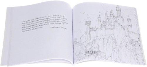 Пример страницы из раскраски