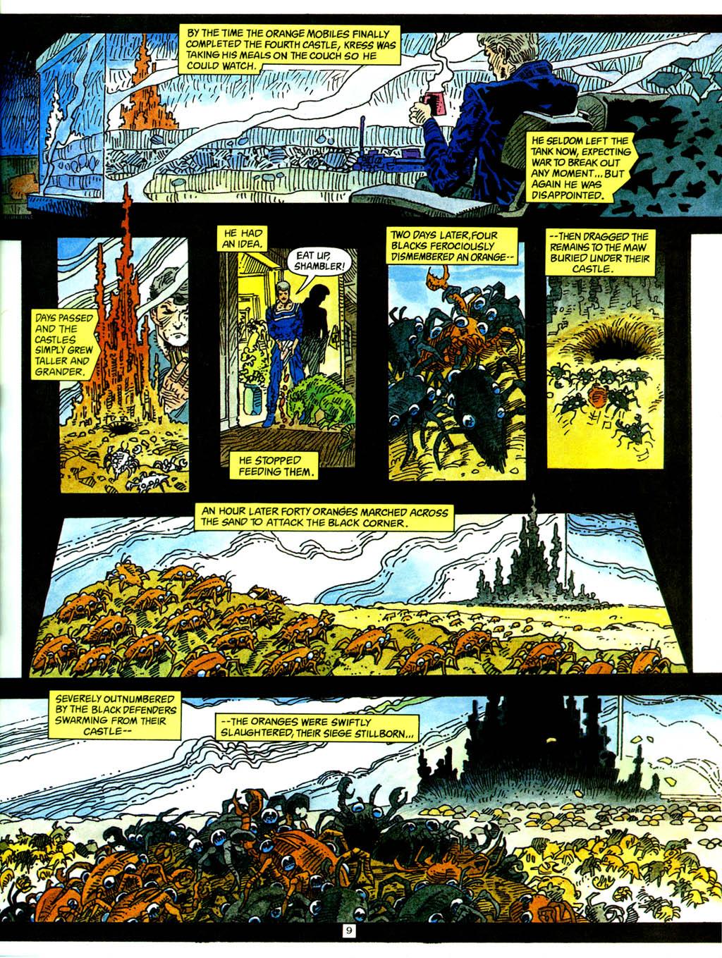 Комикс Короли-пустынники / Sandkings Comics