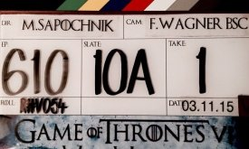 Со съемок последнего эпизода 6-го сезона Игры престолов