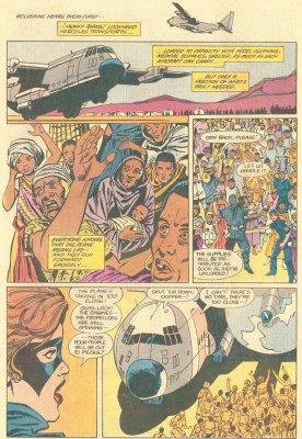 «Люди Икс: Герои надежды» (Heroes for Hope: Starring the X-Men), стр. 33