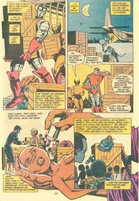 «Люди Икс: Герои надежды» (Heroes for Hope: Starring the X-Men), стр. 35