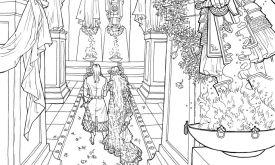 Венчание в Септе Бейлора (илл. Ивонна Гилберт)