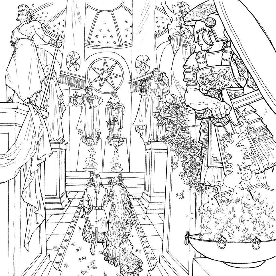 Раскраска по мотивам «Песни Льда и Пламени» (теперь и на ...
