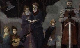 Семейный портрет Форрестеров из Game of Thrones от Telltale