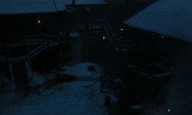 Всеми позаброшенный труп Джона Сноу во дворе Черного замка
