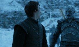 То ли Бран смотрит виде́ние с Королем Ночи, то ли Король Ночи вторгается в виде́ние Брана