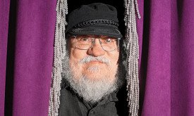 George R.R. Martin in Santa Fe, N.M. Photo by Steven St. John.