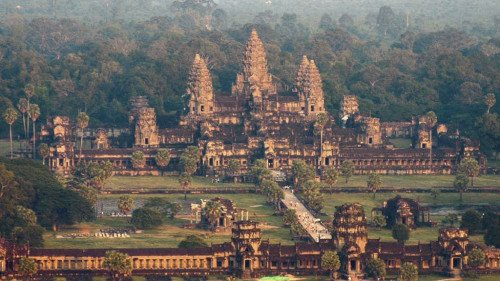 Руины камбоджийского Ангкор-Вата