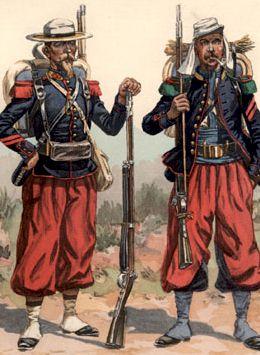 Легионеры эпохи Мексиканской авантюры
