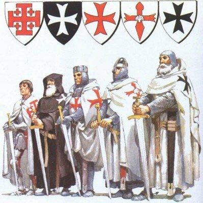 Рыцари католических орденов
