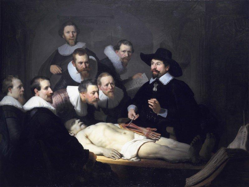 Урок анатомии доктора Тульпа (Рембрандта) как источник вдохновения
