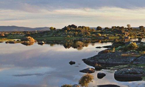 Памятник природы Барруэко недалеко от города Мальпартида; съемки ожидаются в ноябре с участием большого числа статистов.