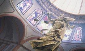 Статуя Отца в септе Бейлора