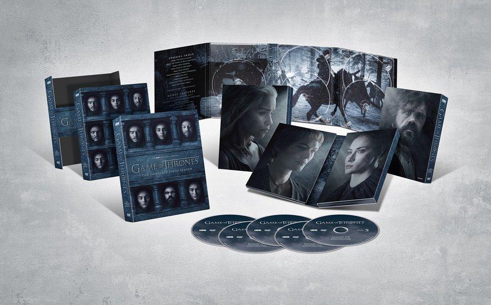 DVD/Blu-ray-издание шестого сезона «Игры престолов»