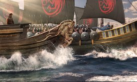 Корабли со знаменами Таргариенов