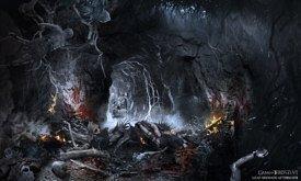 В пещере Трехглазого Ворона