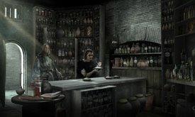 Арья в лаборатории Черно-Белого дома