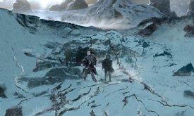 Нападение мертвяков на пещеру Трехглазого ворона