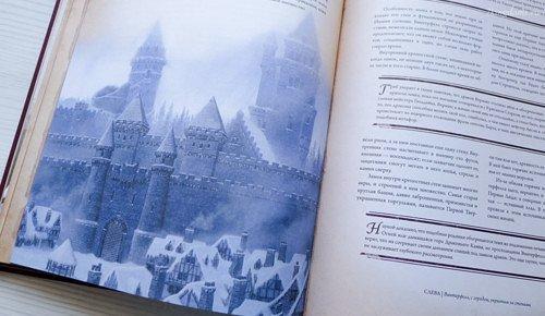 Подпись гласит: «Винтерфелл с городом, укрытым за стенами», но прекрасно видно, что город стенами не укрыт.