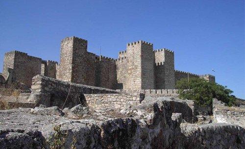 Мавританский замок Алькасаба в г. Трухильо (Касерес)