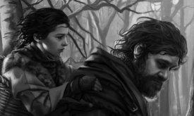 Бран и Ходор (худ. Мегали Вильнев ?)