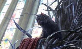 Балерион сидит на троне