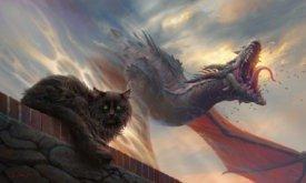 Балерион, кот и дракон
