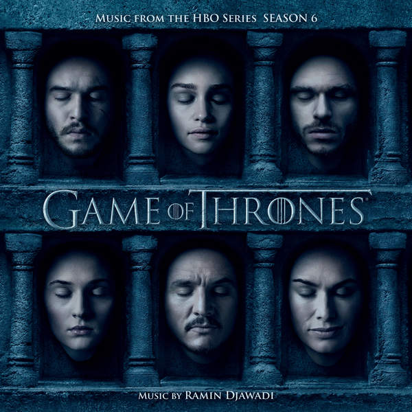 Саундтрек 6-го сезона Игры престолов (обложка)